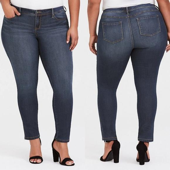 torrid Denim - Torrid Premium Dark Wash Skinny Jeans